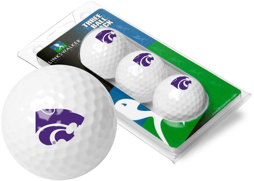 Kansas State Wildcats - 3 Golf Ball Sleeve