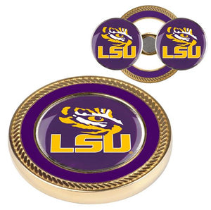 LSU Tigers - Challenge Coin / 2 Ball Markers