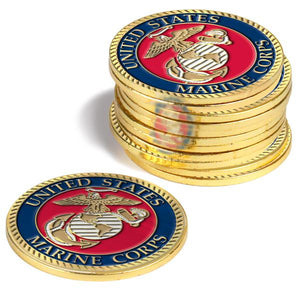 US Marines - 12 Pack Ball Markers