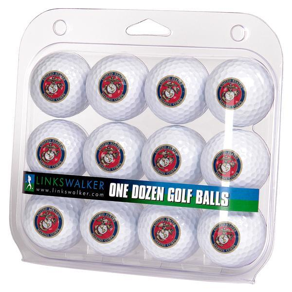 US Marines - Dozen Golf Balls - Linkswalkerdirect