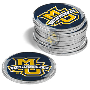 Marquette Golden Eagles - 12 Pack Ball Markers