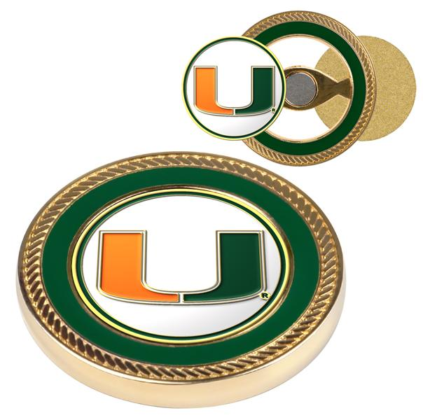 Miami Hurricanes - Challenge Coin / 2 Ball Markers
