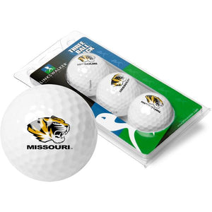 Missouri Tigers - 3 Golf Ball Sleeve