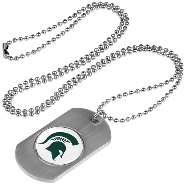 Michigan State Spartans - Dog Tag