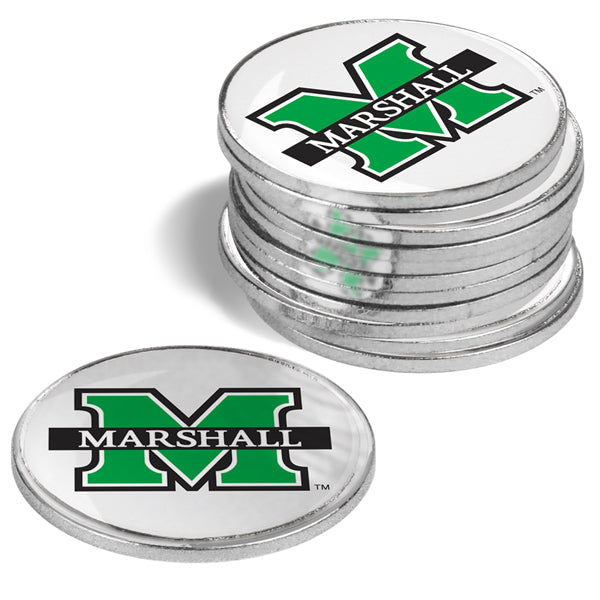 Marshall University Thundering Herd - 12 Pack Ball Markers