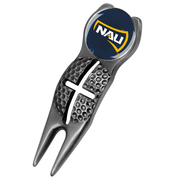 Northern Arizona Lumberjacks - Crosshairs Divot Tool  -  Black - Linkswalkerdirect