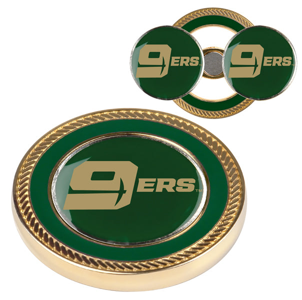 North Carolina Charlotte 49ers - Challenge Coin / 2 Ball Markers