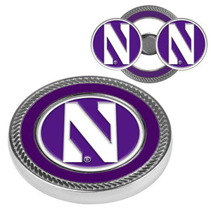 Northwestern Wildcats - Challenge Coin / 2 Ball Markers