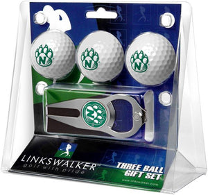 Northwest Missouri State Bearcats - 3 Ball Gift Pack with Hat Trick Divot Tool