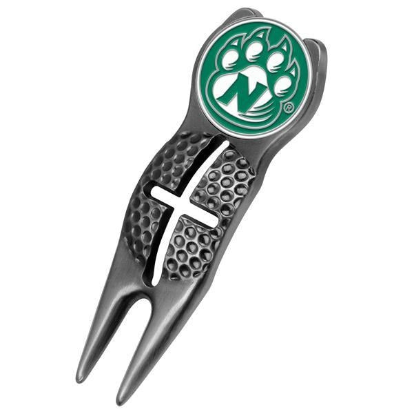 Northwest Missouri State Bearcats - Crosshairs Divot Tool  -  Black - Linkswalkerdirect