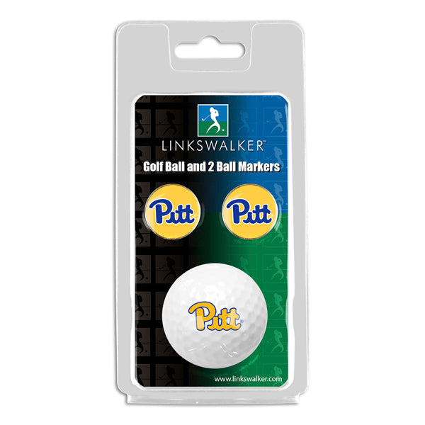 Pittsburgh Panthers - Golf Ball and 2 Ball Marker Pack