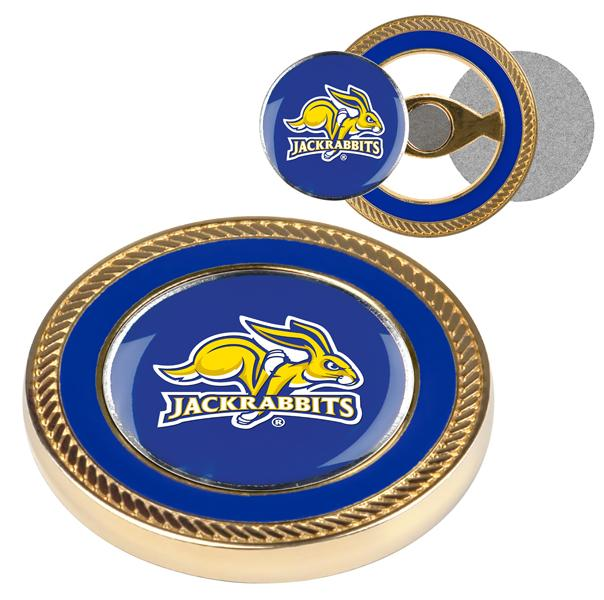 South Dakota State Jackrabbits - Challenge Coin / 2 Ball Markers