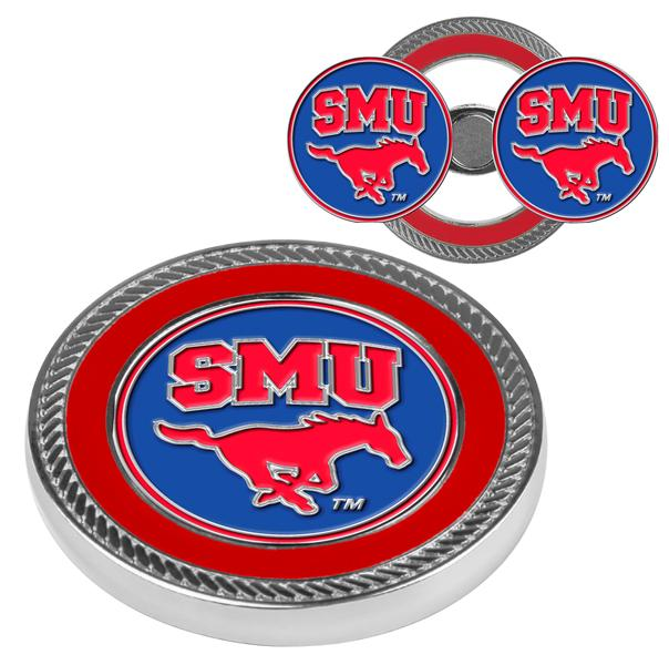 Southern Methodist University Mustangs - Challenge Coin / 2 Ball Markers