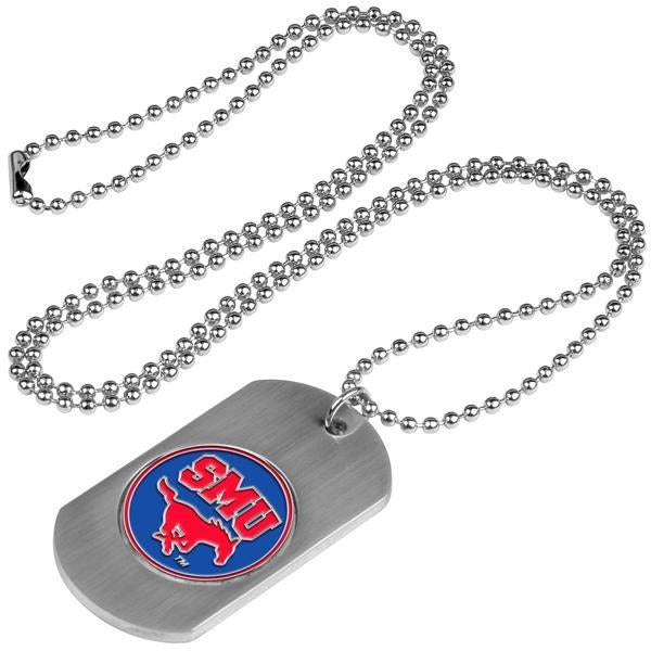 Southern Methodist University Mustangs - Dog Tag - Linkswalkerdirect