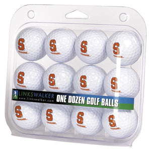 Syracuse Orange - Dozen Golf Balls - Linkswalkerdirect