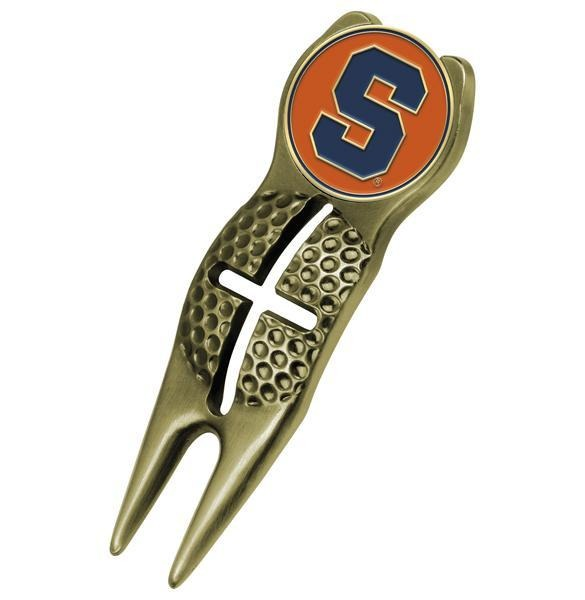 Syracuse Orange - Crosshairs Divot Tool  -  Gold - Linkswalkerdirect