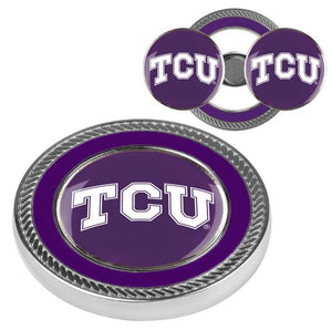 Texas Christian Horned Frogs - Challenge Coin / 2 Ball Markers