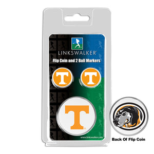 Tennessee Volunteers - Flip Coin and 2 Golf Ball Marker Pack
