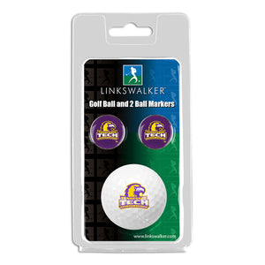 Tennessee Tech Eagles - Golf Ball and 2 Ball Marker Pack