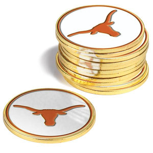 Texas Longhorns - 12 Pack Ball Markers