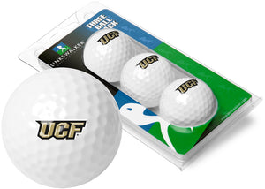 Central Florida Knights - 3 Golf Ball Sleeve