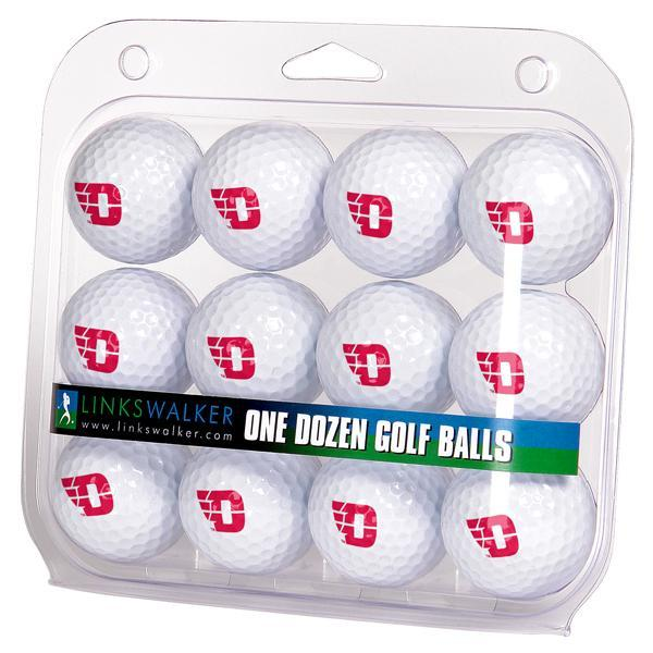 Dayton Flyers - Dozen Golf Balls - Linkswalkerdirect