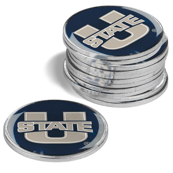 Utah State University Aggies - 12 Pack Ball Markers
