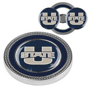 Utah State University Aggies - Challenge Coin / 2 Ball Markers