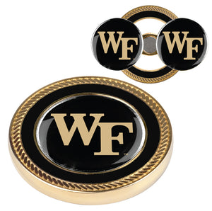 Wake Forest Demon Deacons - Challenge Coin / 2 Ball Markers