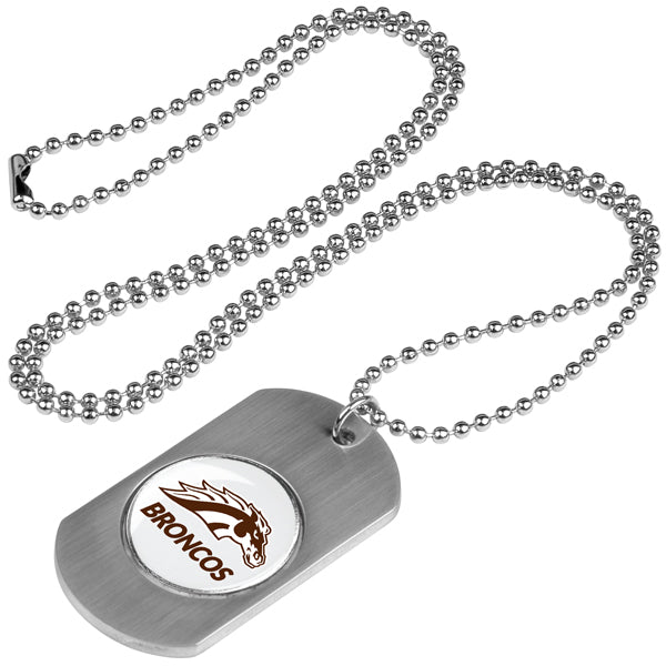 Western Michigan Broncos - Dog Tag - Linkswalkerdirect