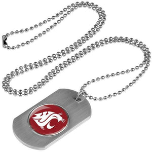 Washington State Cougars - Dog Tag - Linkswalkerdirect