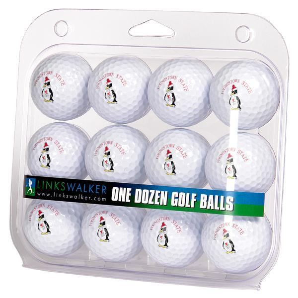 Youngstown State Penguins - Dozen Golf Balls - Linkswalkerdirect