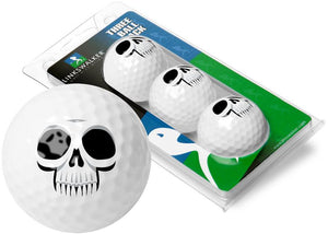 Halloween - Haunted Skull 3 Ball Sleeve - Linkswalkerdirect