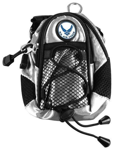 US Air Force - Mini Day Pack  -  Silver - Linkswalkerdirect