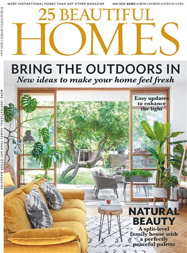 Feature in 25 Beautiful Homes, May 2020