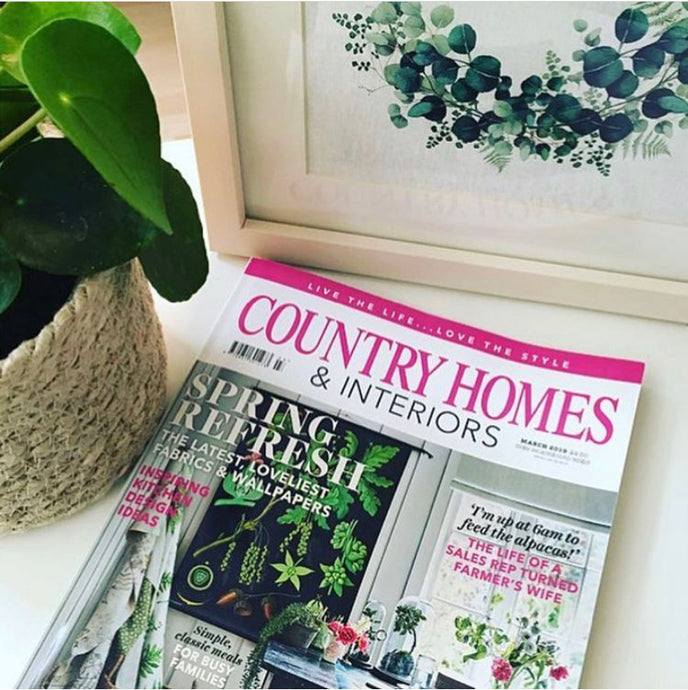 Scandi Hoop featured in Country Homes Magazine
