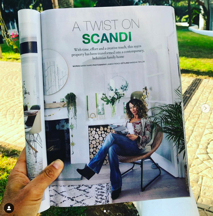 """A Twist on Scandi"" feature in House Beautiful - September 2019"