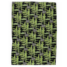 Load image into Gallery viewer, Tropical Zebras Tea Towel
