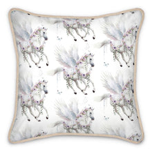 Load image into Gallery viewer, Pre-order: Pegasus Silk Cushion