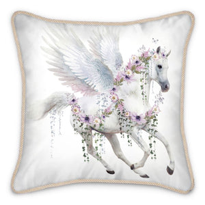 Pre-order: Single Pegasus Silk Cushion