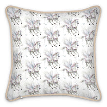 Load image into Gallery viewer, Pre-order: Single Pegasus Silk Cushion