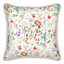 Load image into Gallery viewer, Pre-order: Wild Walk Silk Cushion - Cotton White