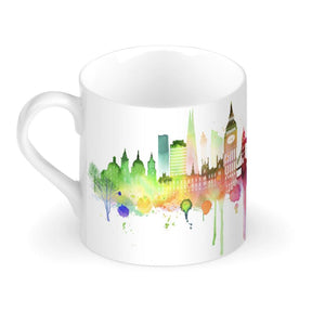 Rainbow London Skyline Bone China Mug