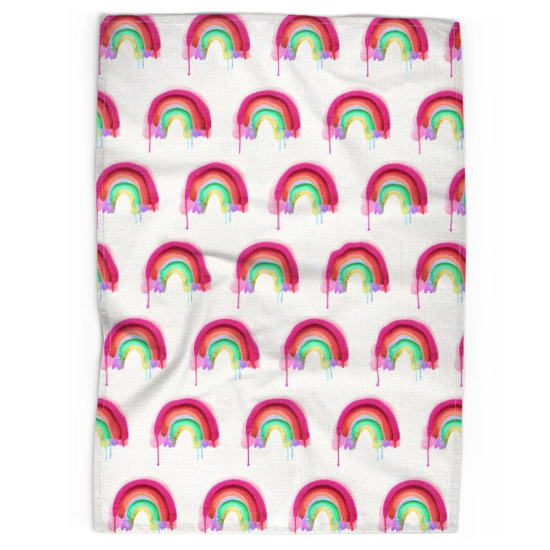 Rainbow Tea Towel