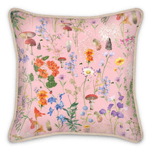 Load image into Gallery viewer, Wild Walk Silk Cushion - Blush Pink