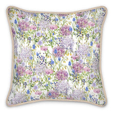 Load image into Gallery viewer, Pre-order: Allium Floral Silk Cushion