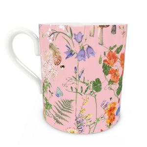 Pre-order: Wild Walk Bone China Mug - Blush