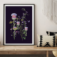 Load image into Gallery viewer, Artichoke Thistle Print