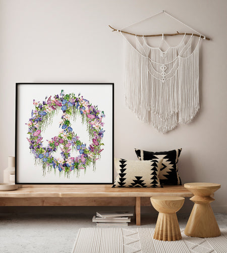 Peace Sign Print - Limited Edition