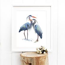 Load image into Gallery viewer, Art of Nature Heron Print